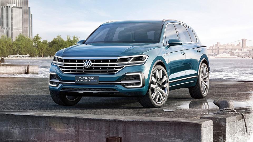 Volkswagen показал предвестника нового внедорожника