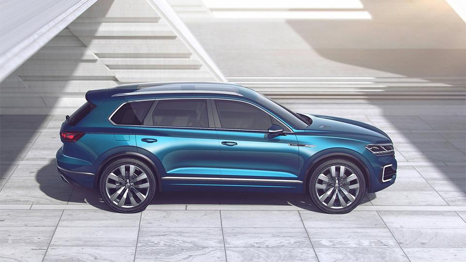 Новый прототип VW получил название T-Prime Concept GTE