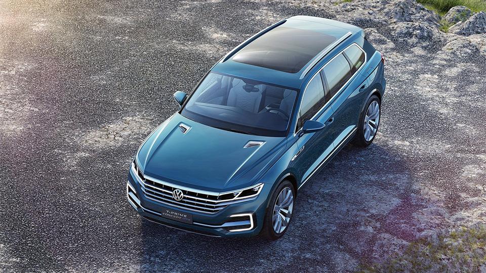 Новый прототип VW получил название T-Prime Concept GTE. Фото 1