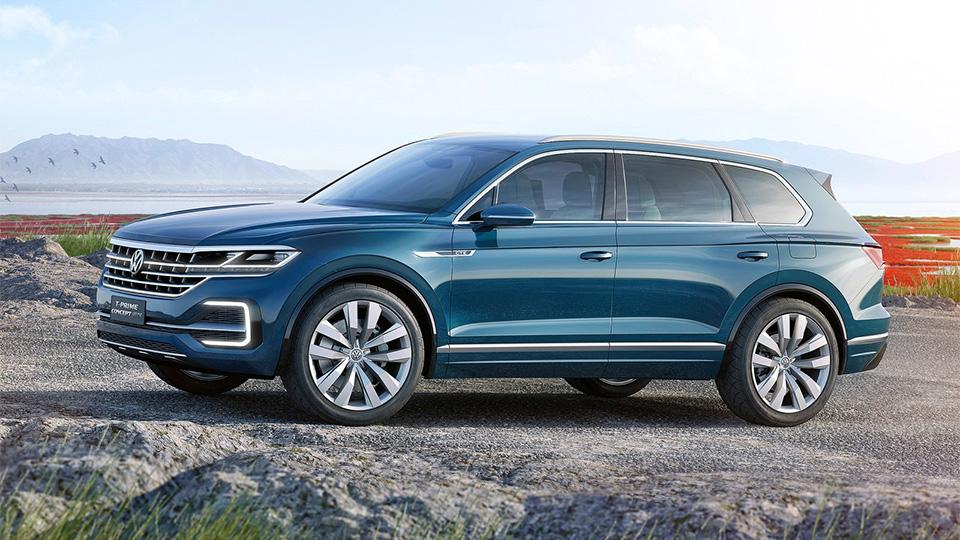 Новый прототип VW получил название T-Prime Concept GTE. Фото 3