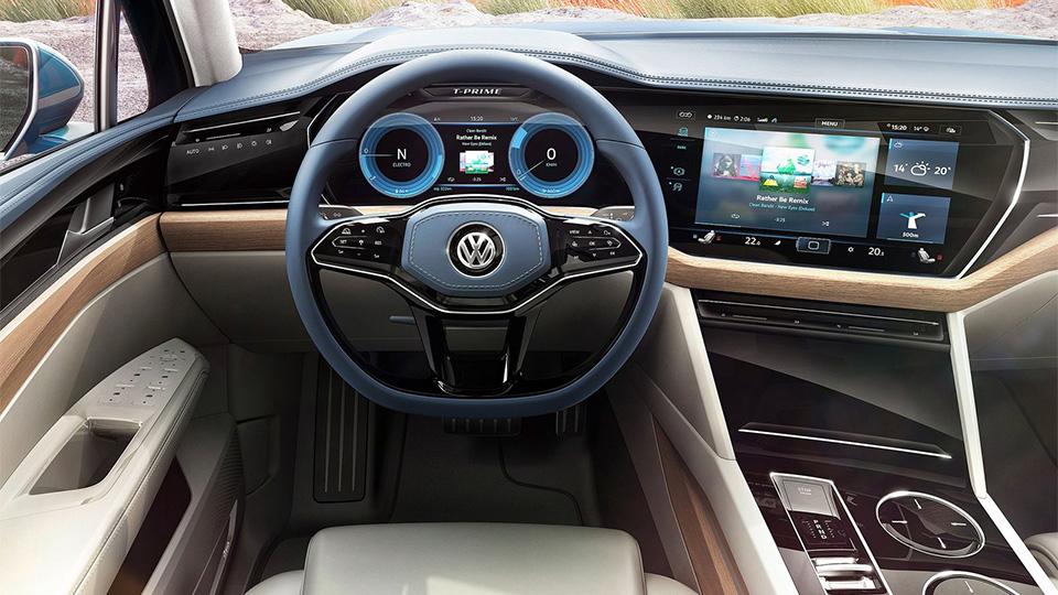 Новый прототип VW получил название T-Prime Concept GTE. Фото 5