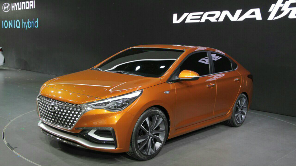 Компания Hyundai раскрыла прототип нового «Соляриса»