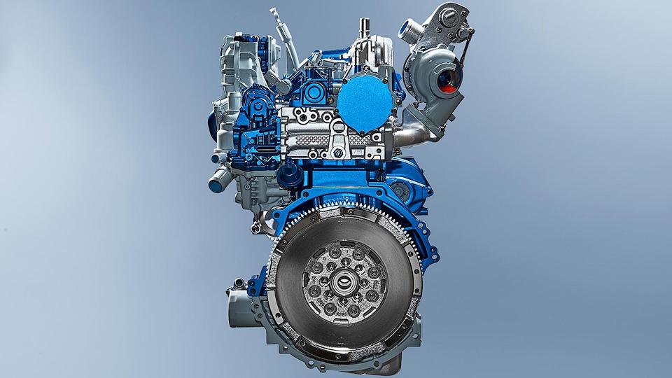 Ford представил новый дизельный двигатель