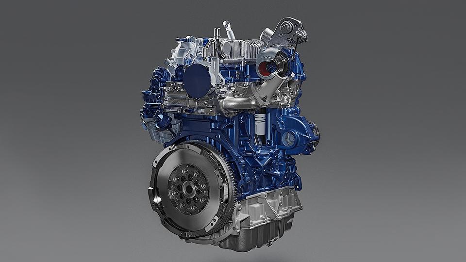 У «Форда» появилось новое семейство моторов EcoBlue