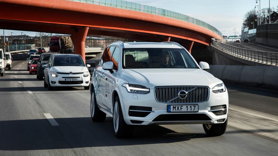 Volvo проведет в Лондоне самые масштабные тесты беспилотников