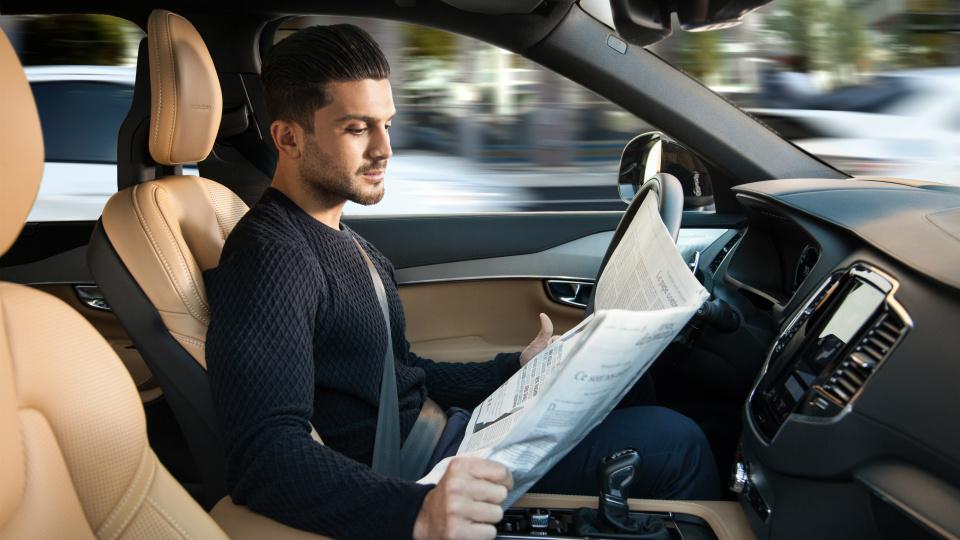 На дороги британской столице выведут сто автономных Volvo XC90. Фото 1