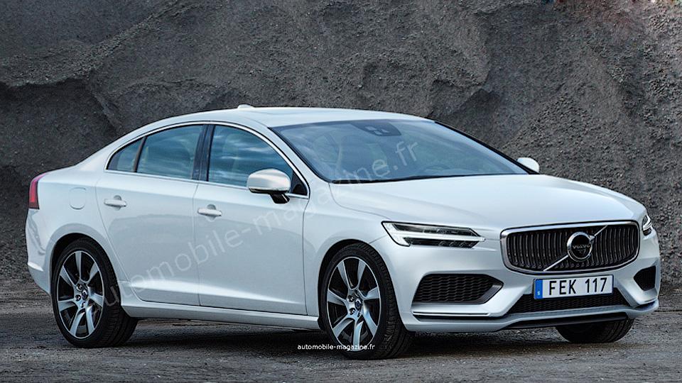 Новый Volvo S60 получит трехцилиндровые моторы