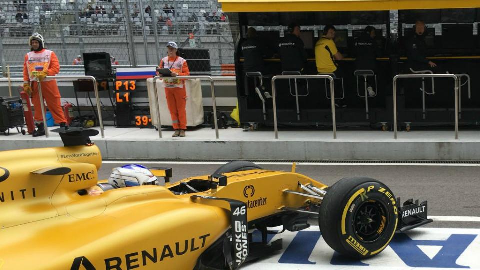 Сироткин превзошел Палмера в дебютной тренировке за Renault