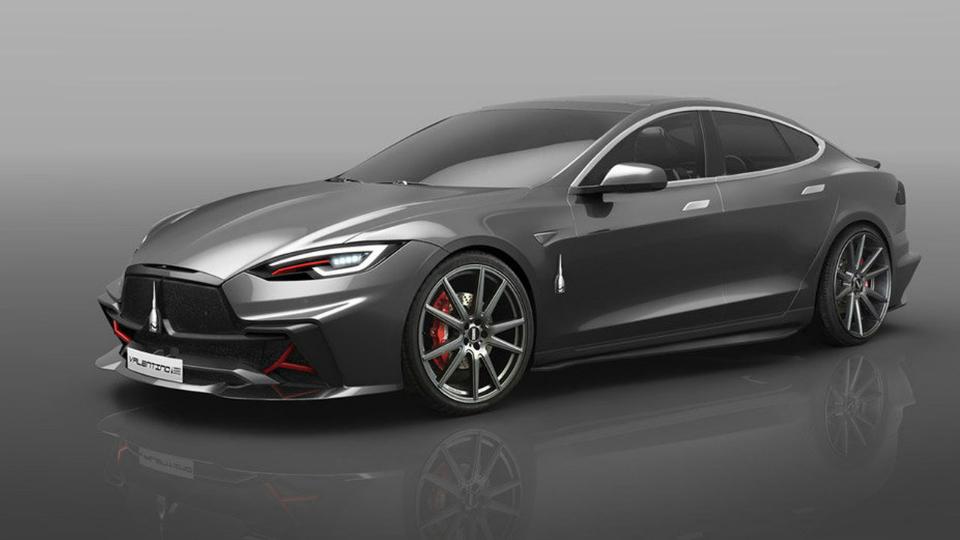 Итальянцы превратят Tesla Model S в Valentino