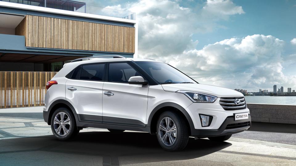Стали известны рублевые цены кроссовера Hyundai Creta