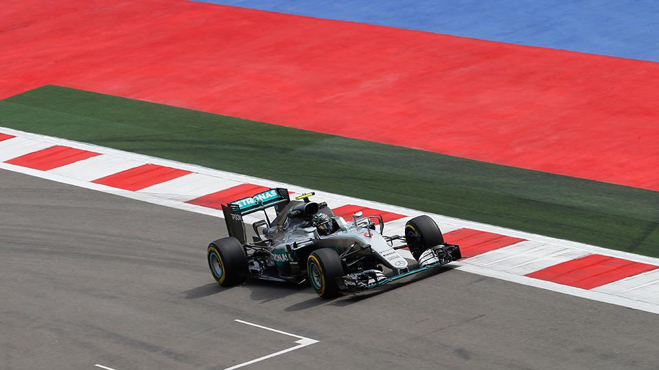 Нико Росберг впервые выиграл Гран-при России
