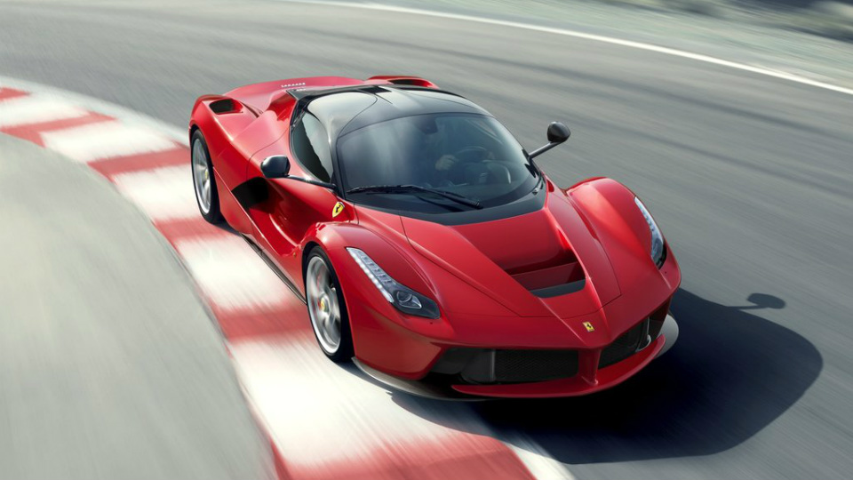 Глава Fiat подтвердил открытую версию Ferrari LaFerrari