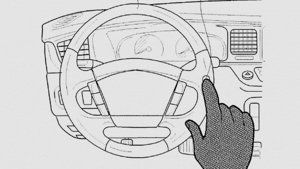 Компания Hyundai запатентовала сенсорные клавиши на руле