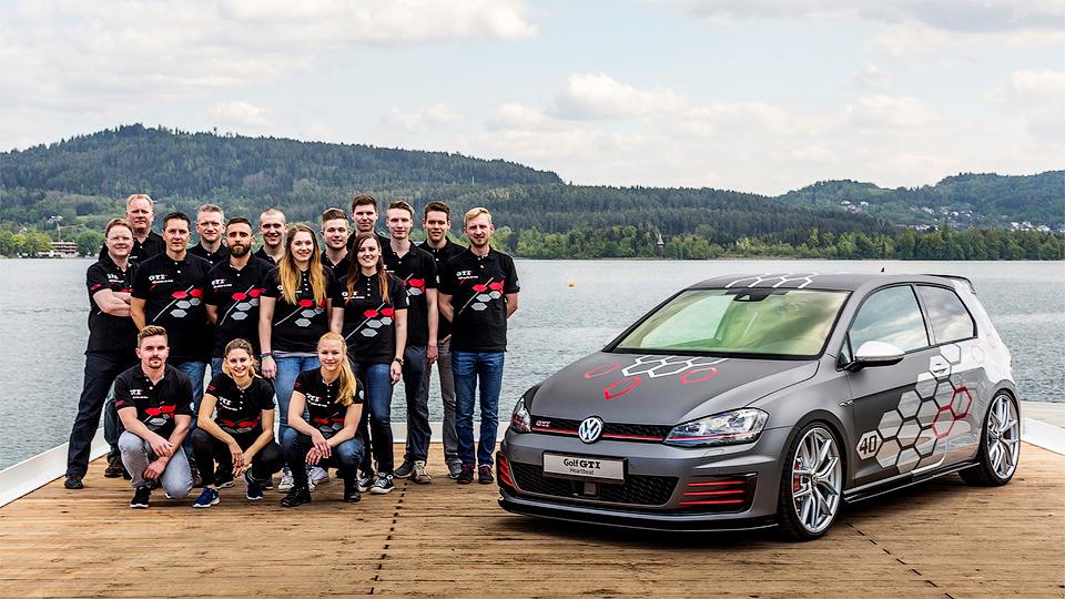 Студенты «Фольксвагена» построили 400-сильный Golf