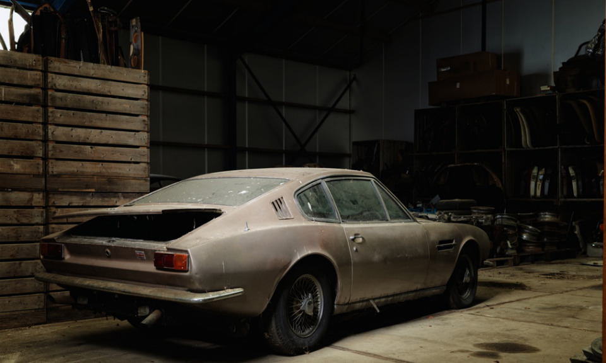 Купе DBS 1968 года выпуска оценили в 100 тысяч долларов