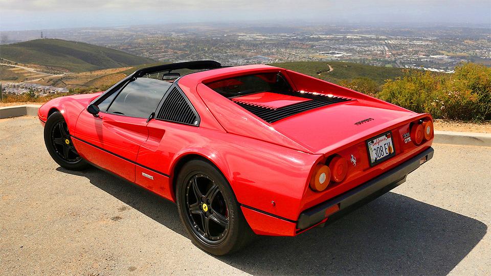 Фирма Electric GT оснастила Ferrari 308 GTS 415-сильным электромотором