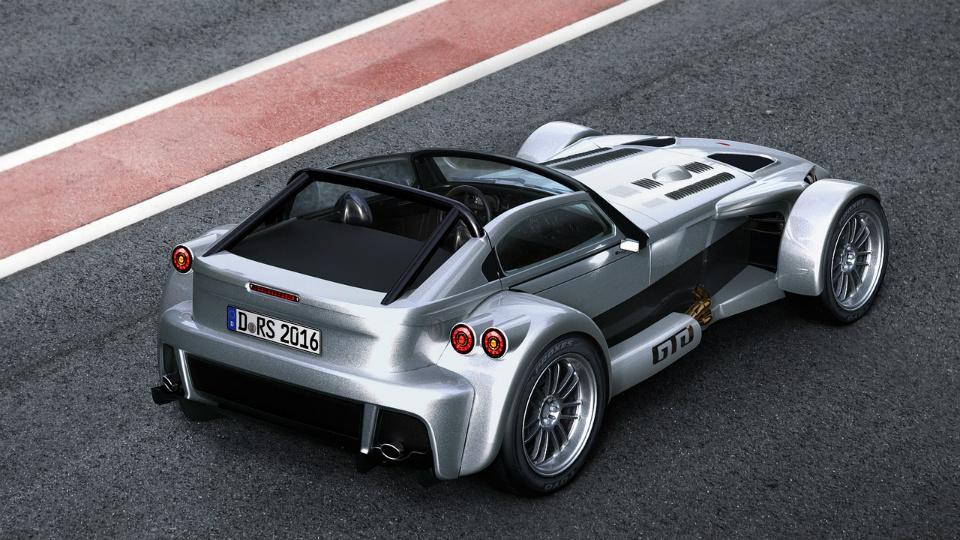 Компания Donkervoort построила экстремальную модификацию родстера D8 GTO. Фото 1