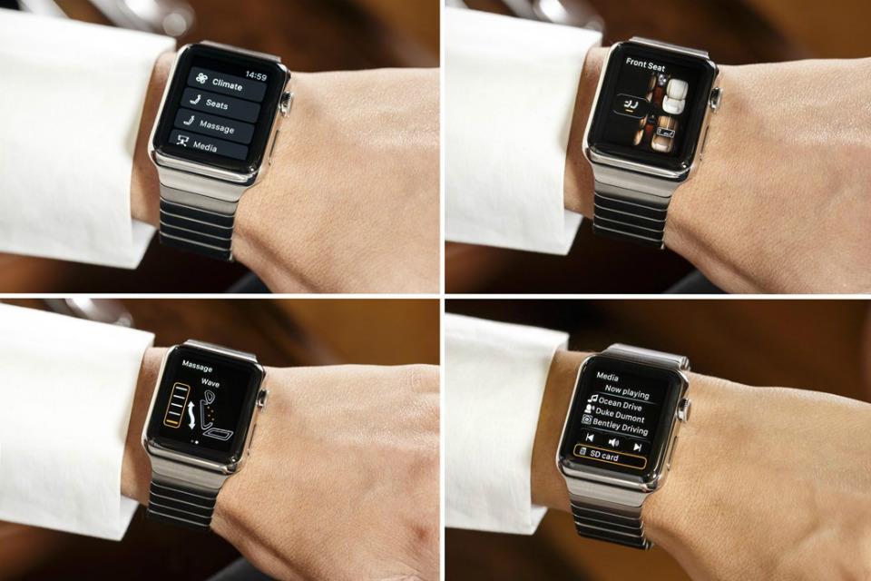 При помощи Apple Watch можно будет управлять рядом функций кроссовера. Фото 1