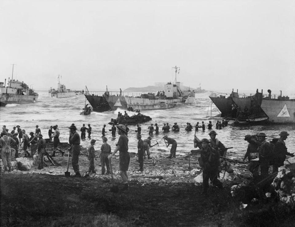 Высадка союзников на Сицилии 1943 года как первое появление «Джипов» в Европе. Фото 4