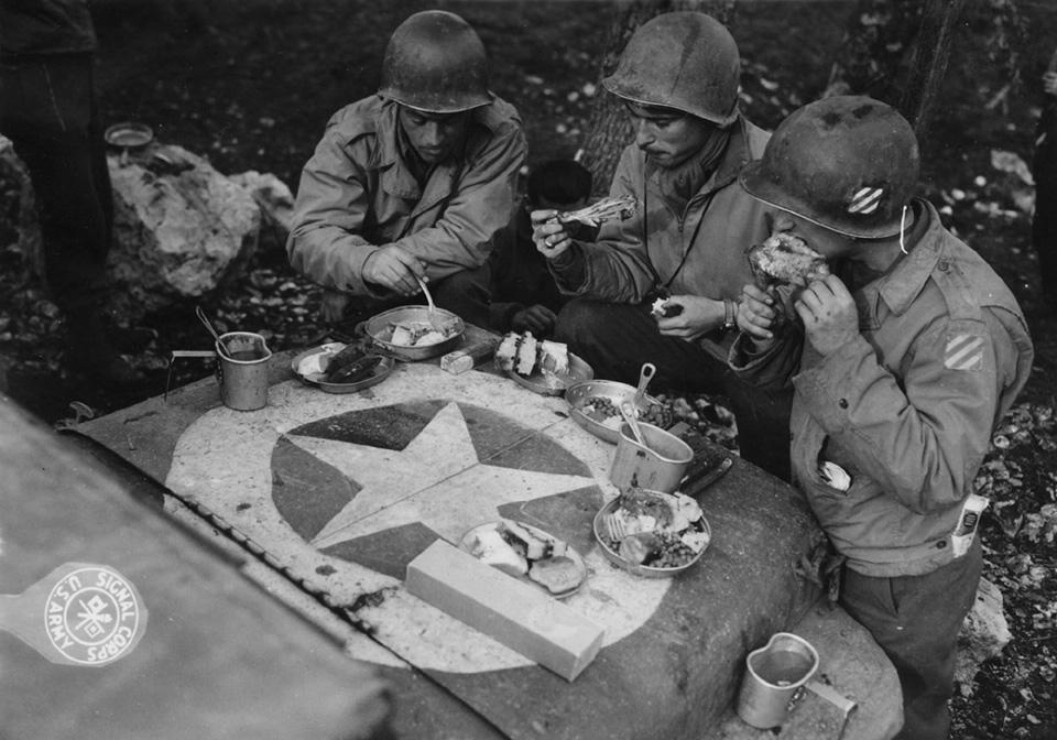 Высадка союзников на Сицилии 1943 года как первое появление «Джипов» в Европе. Фото 11