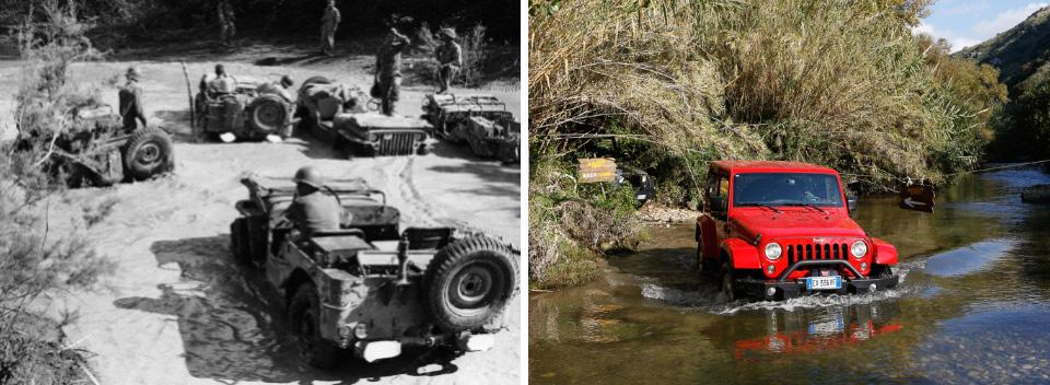 Высадка союзников на Сицилии 1943 года как первое появление «Джипов» в Европе. Фото 10