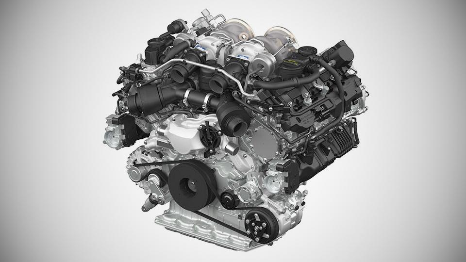 В Porsche подготовили для следующей Панамеры новый мотор V8