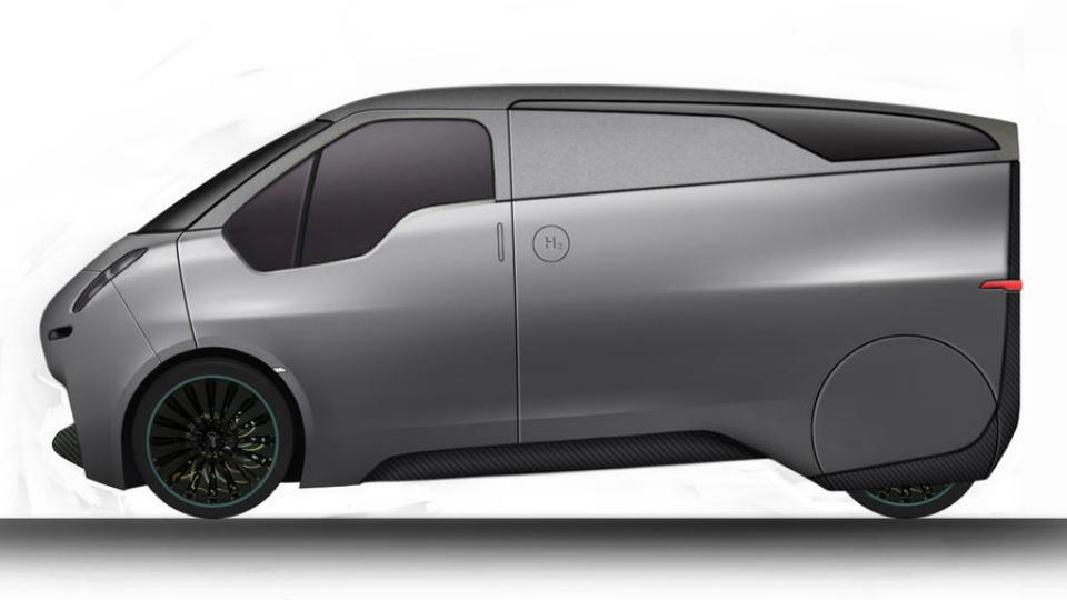 Компания Riversimple построит водородный седан и фургон