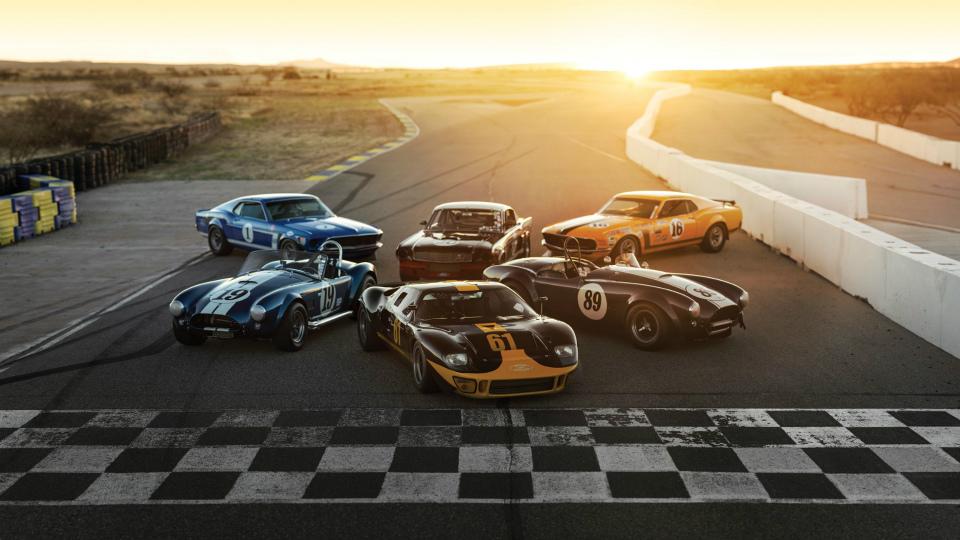 В США продадут шесть гоночных «Фордов» за 11 миллионов долларов