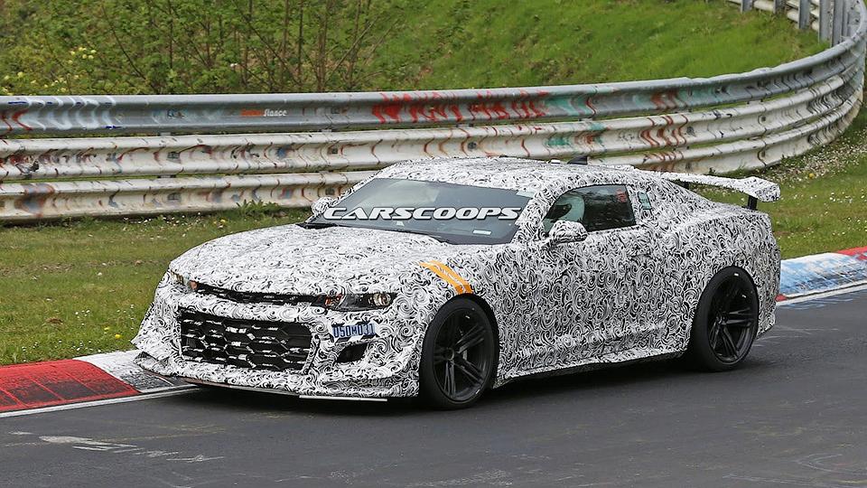 На Нюрбургринге начались тесты экстремального Chevrolet Camaro