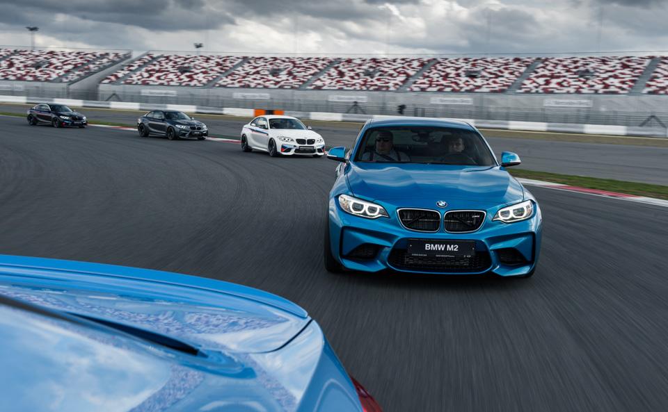 Во что превращает BMW M2 пакет M Performance