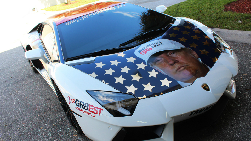 Американские тюнеры превратили Lamborghini в «Трампвентадор»