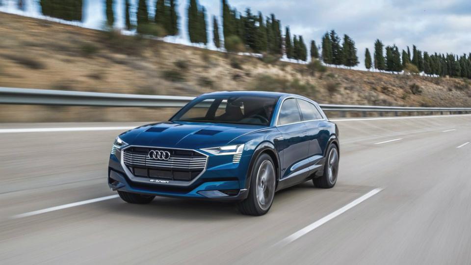 Audi будет выпускать по одному электромобилю ежегодно