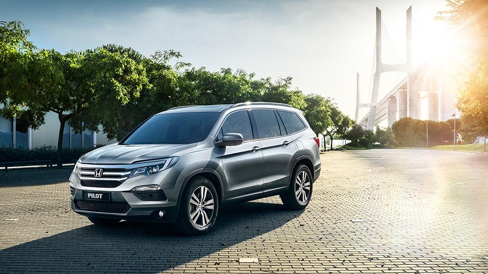 Honda Pilot нового поколения оценили втри миллиона рублей