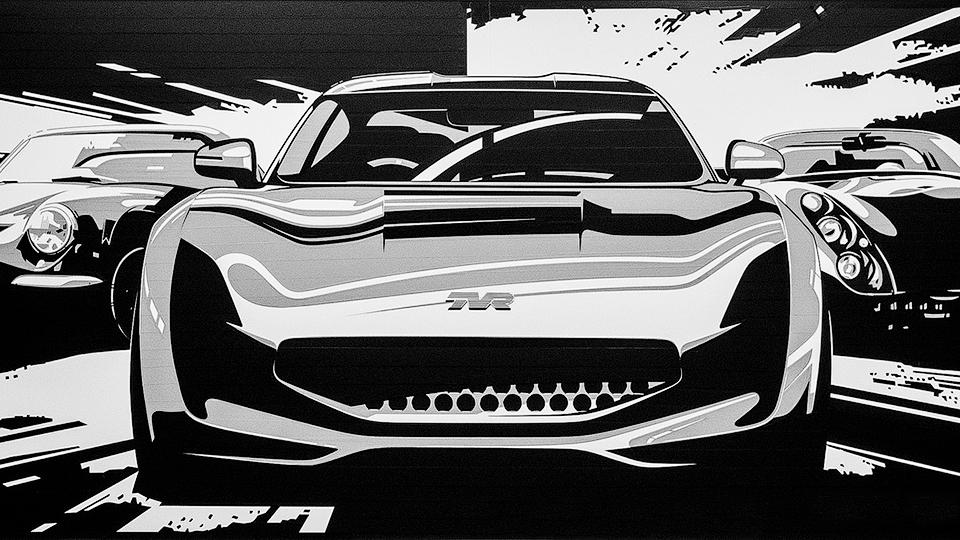 Возрожденная компания опубликовала тизеры будущего купе. Фото 1