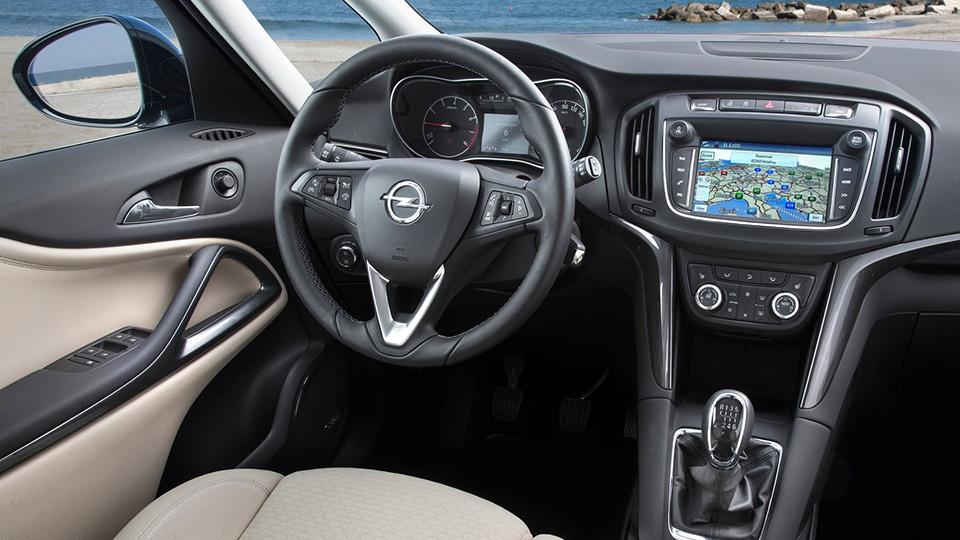 Минивэн Opel Zafira обновился. Фото 2