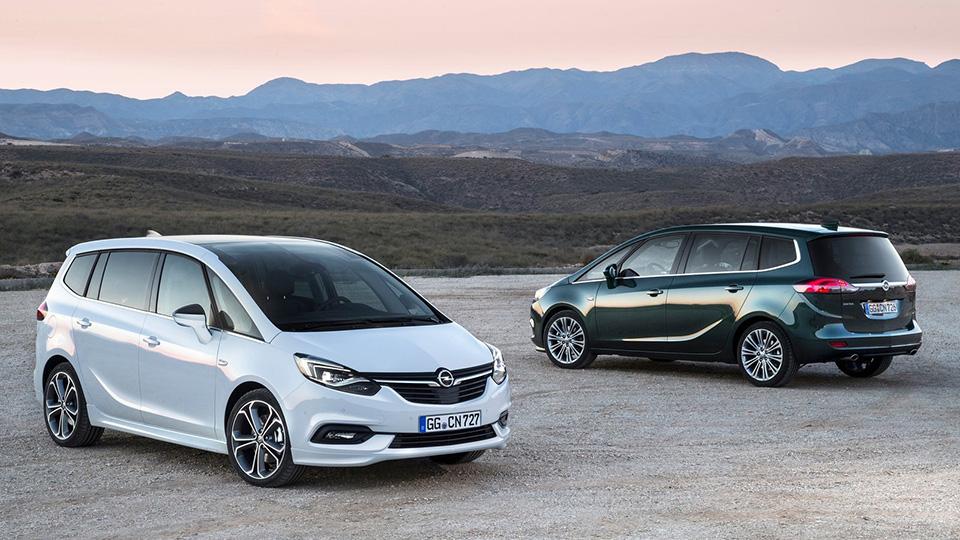 Минивэн Opel Zafira обновился. Фото 3