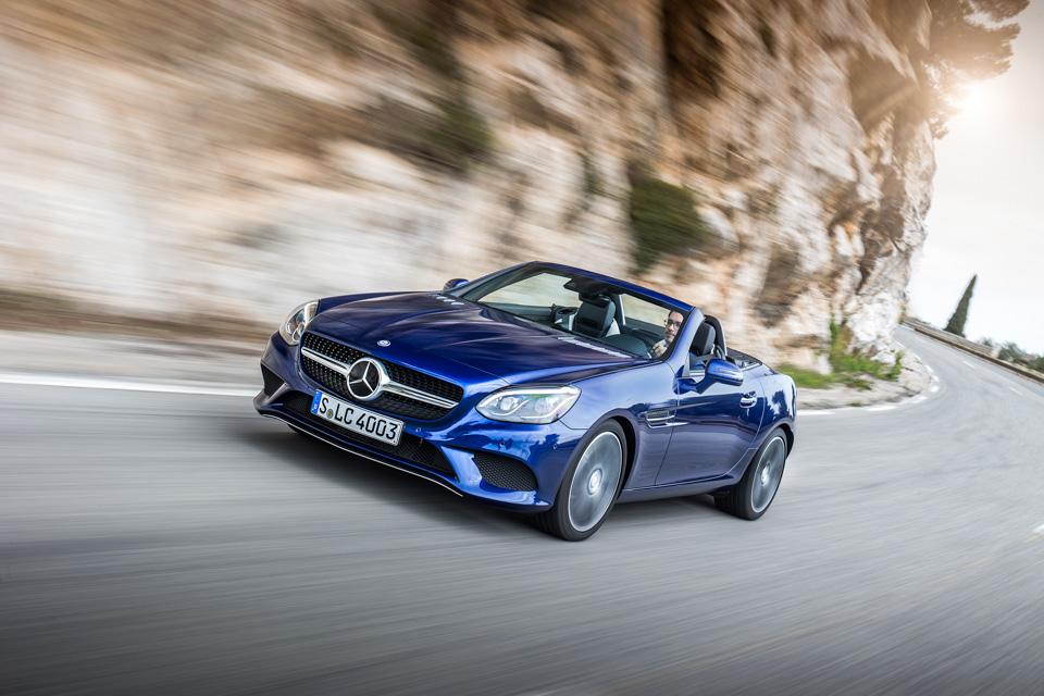 Что изменилось вродстере Mercedes-Benz SLC помимо одной буквы вназвании. Фото 8