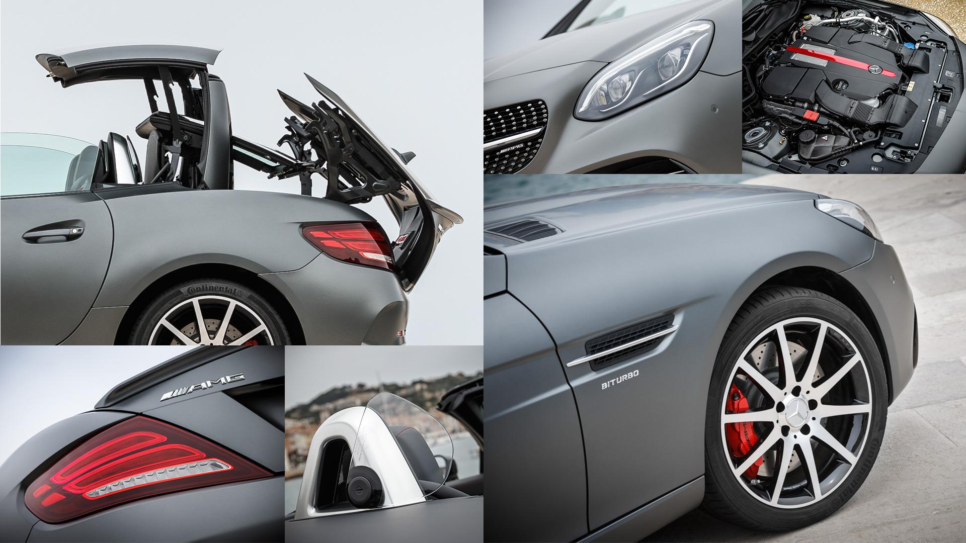 Что изменилось вродстере Mercedes-Benz SLC помимо одной буквы вназвании. Фото 4