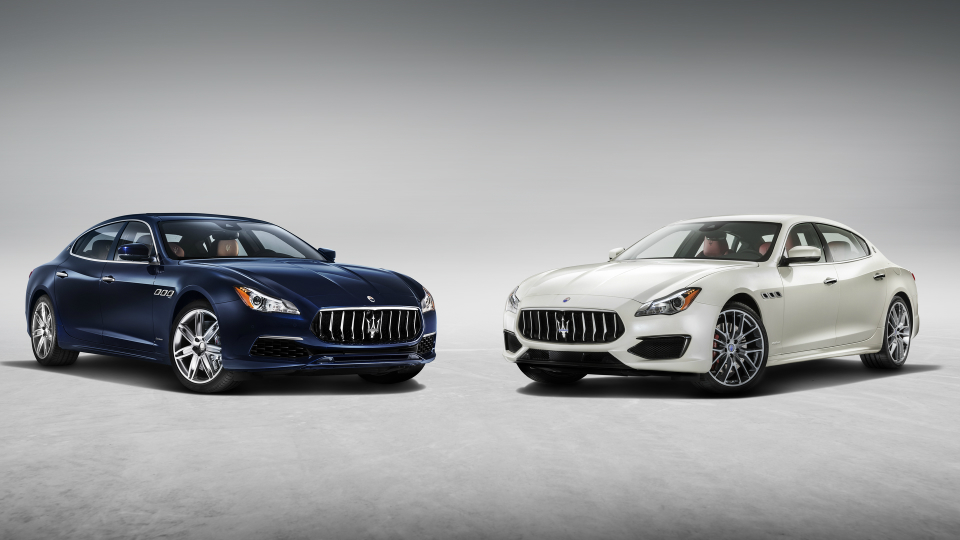 Компания Maserati обновила седан Quattroporte