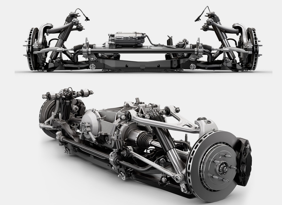 Самые необычные конструкции автомобильных подвесок. Фото 6