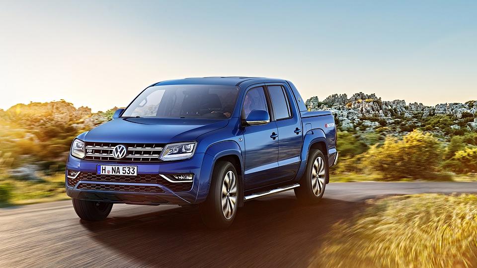 VW Amarok с дизелем V6 доберется до России в 2017 году