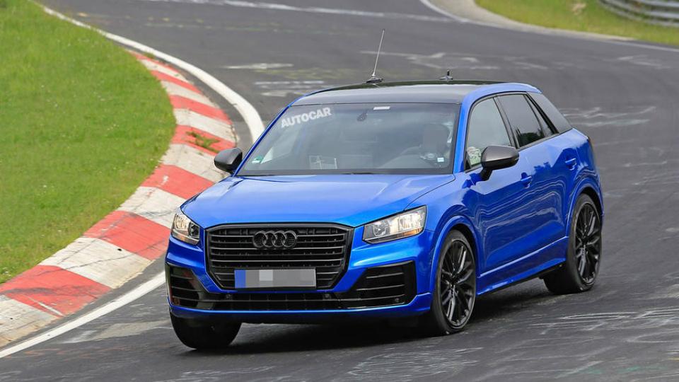 Audi вывела наНюрбургринг заряженный Q2 без камуфляжа