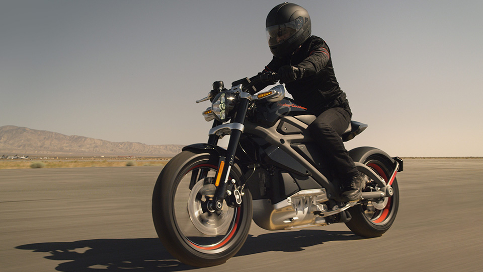 Электрический мотоцикл Harley-Davidson появится через пять лет