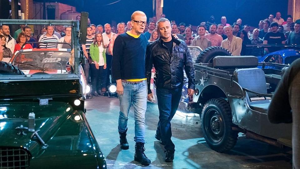 Мэтт Леблан пригрозил покинуть Top Gear