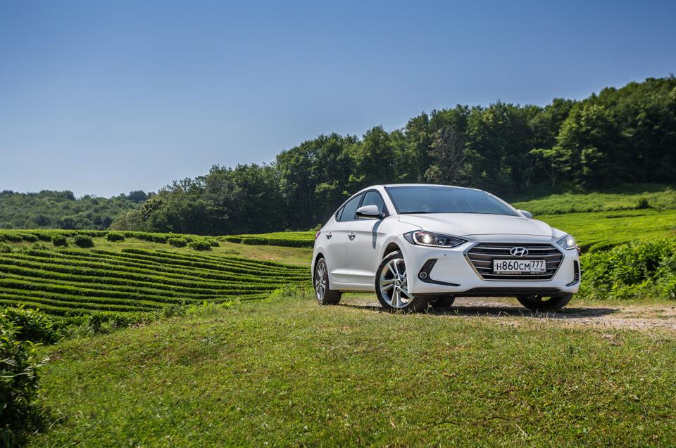Тест-драйв нового седана Hyundai Elantra. Действительно нового