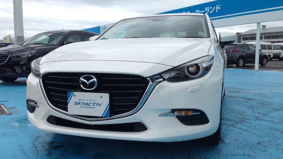Какой будет обновленная Mazda3. Первые фото - Mazda