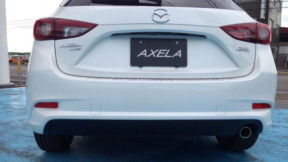 Mazda3 получит другую переднюю часть кузова