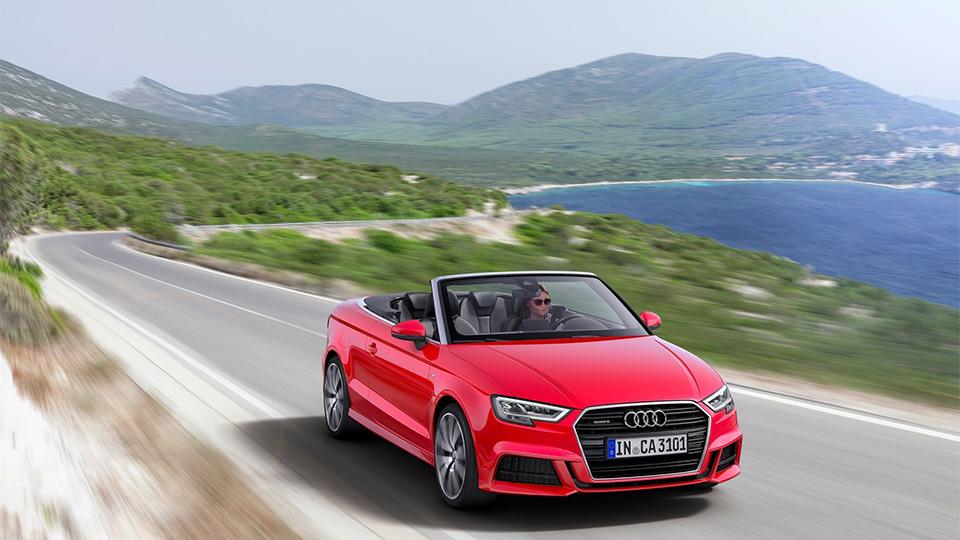 Обновленный кабриолет Audi A3 оценили вдва миллиона рублей