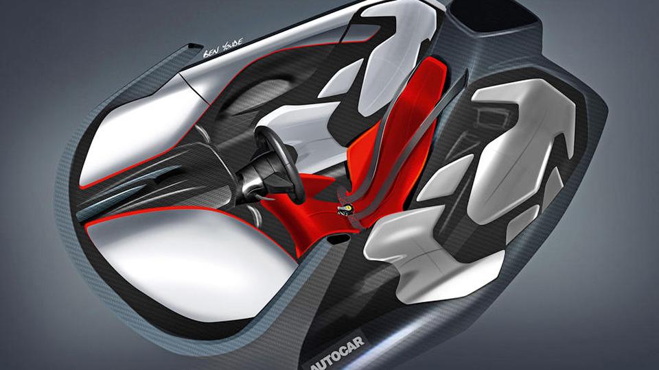 Компания МакЛарен  выпустит трехместного преемника суперкара F1