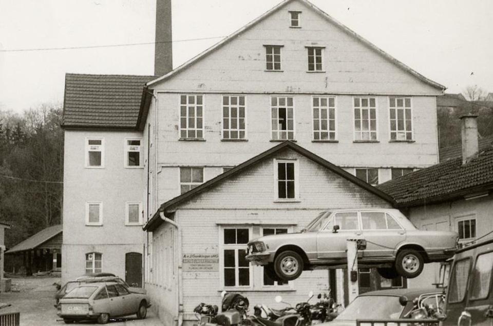 «Красная Свинья», седан, обгонявший Lamborghini, идругие безумные создания изистории AMG. Фото 4